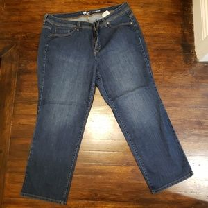 Style & Co Straight Leg Jeans 18WP